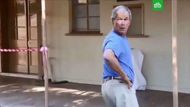 Президент-катастрофа: курьезы Джорджа Буша— младшего.ЗаМинуту, Буш-младший, США, курьезы.НТВ.Ru: новости, видео, программы телеканала НТВ