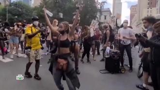 Хаос, погромы иCOVID-19: как протестующие вСША строят «новый мир».НТВ.Ru: новости, видео, программы телеканала НТВ