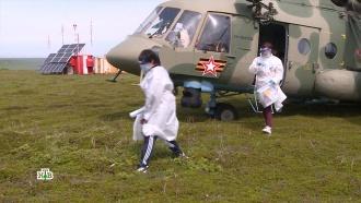 На метеостанциях ив «красных зонах» больниц: как россияне голосовали по всей стране