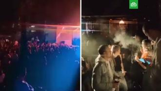 На Алтае сотни человек собрались на вечеринке, несмотря на запрет массовых мероприятий
