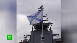 Первые участники Главного военно-морского парада прибывают в Кронштадт