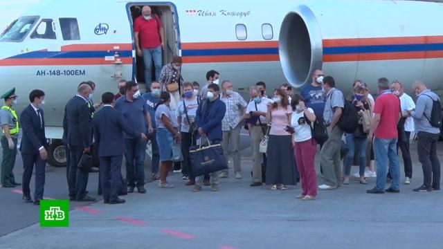 Российские врачи прибыли вКазахстан для борьбы скоронавирусом.Казахстан, врачи, коронавирус, медицина, эпидемия.НТВ.Ru: новости, видео, программы телеканала НТВ