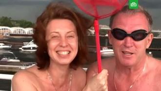 «У вас же меланомы»: полуголые Сенчукова и Рыбин напугали публику