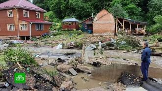 Потоп и разрушения: что натворил ураган в Рузе