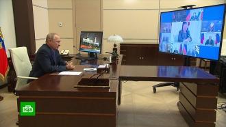 Путин на Совбезе обсудил не выполненные Киевом договоренности