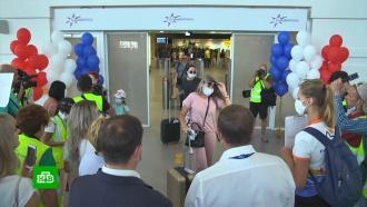Аэропорт Крыма впервые за последние 10лет принял прямой рейс из Владивостока
