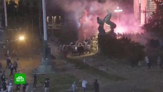 Глава полиции Белграда: в беспорядках участвовали граждане Украины и Киргизии.НТВ.Ru: новости, видео, программы телеканала НТВ