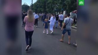 ВХабаровске люди вновь вышли на митинг вподдержку Фургала
