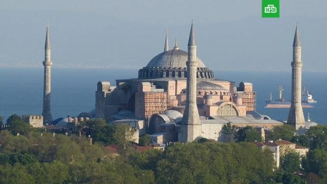 Эрдоган назвал превращение собора Святой Софии в мечеть «шагом к великой Турции».Президент Турции заявил, что мнение других стран не имеет значения при принятии решения о статусе собора Святой Софии.Турция, ЮНЕСКО, религия.НТВ.Ru: новости, видео, программы телеканала НТВ