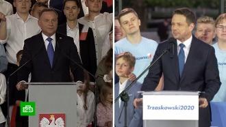 Президент Польши Анджей Дуда обошел конкурента на 2,5% голосов