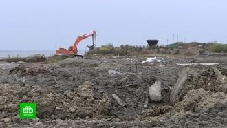 Росприроднадзор выясняет, кто превратил берег Финского залива в гигантскую свалку