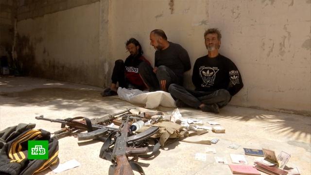 ВСирии задержали боевиков, собиравших данные ороссийских объектах.Сирия, войны и вооруженные конфликты.НТВ.Ru: новости, видео, программы телеканала НТВ