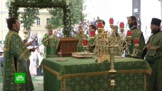 Православные празднуют день обретения мощей Сергия Радонежского
