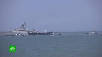 Мультимедийный раздел о главном военно-морском параде появился на сайте Минобороны