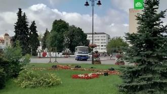 Вукраинском Луцке захвачен автобус с20заложниками