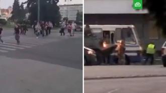 Захват автобуса вЛуцке: заложники освобождены
