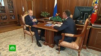 Глава Пенсионного фонда отчитался перед Путиным