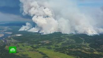 ВЯкутии лесные пожары приближаются кнефтебазе иселу