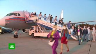 ВКиргизию прилетели еще около 50российских медиков для борьбы с<nobr>COVID-19</nobr>