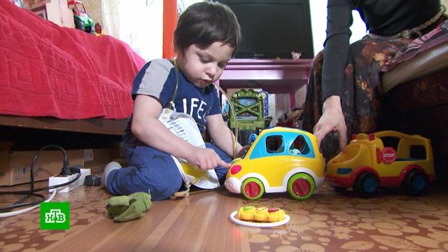 Дамиру из Абхазии из-за внутренних аномалий нужна особая система питания.SOS, благотворительность, дети и подростки.НТВ.Ru: новости, видео, программы телеканала НТВ
