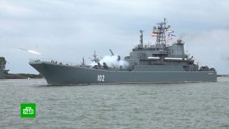 Зрелищные парады и морские бои: регионы с размахом отметили День ВМФ