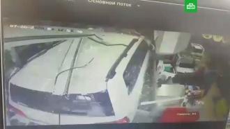 Внедорожник протаранил магазин вТихорецке