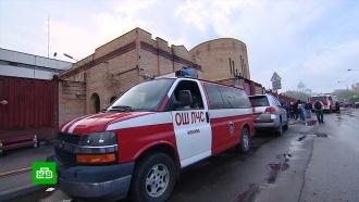 Из загоревшегося СИЗО вМоскве эвакуировали 850человек