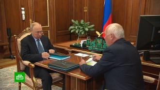 Чемезов доложил Путину о поставках первой отечественной пентавакцины от 5 болезней