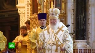 В храме Христа Спасителя прошла литургия в честь Дня крещения Руси