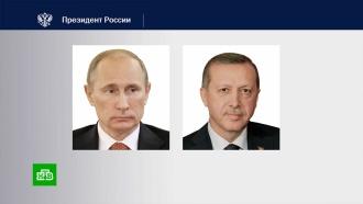 Путин иЭрдоган обсудили <nobr>армяно-азербайджанский</nobr> конфликт