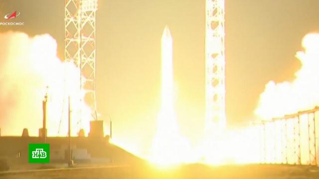 «Протон-М» отправил на орбиту два спутника.Байконур, Протон-М, запуски ракет, космос, спутники.НТВ.Ru: новости, видео, программы телеканала НТВ