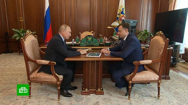 Глава ОАК доложил Путину о перспективных военных и гражданских проектах.Путин, авиация, компании, самолеты.НТВ.Ru: новости, видео, программы телеканала НТВ
