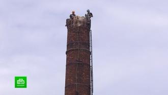 Петербуржцы боятся обрушения своих квартир <nobr>из-за</nobr> демонтажа исторической фабрики