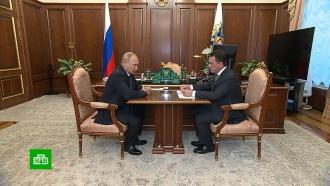 Подмосковный губернатор обсудил спрезидентом проблему обманутых дольщиков