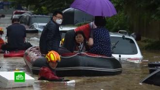 Число жертв наводнения вЮжной Корее выросло до 12человек