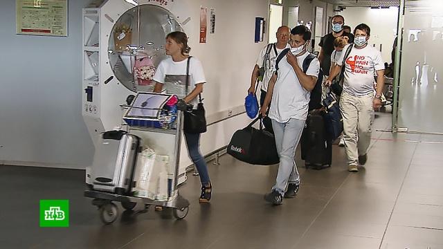 Борьба сCOVID-19: помогавшие казахстанским медикам российские врачи вернулись на родину.Казахстан, болезни, врачи, здравоохранение, коронавирус, медицина.НТВ.Ru: новости, видео, программы телеканала НТВ