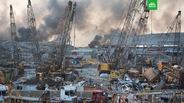 Разрушена половина Бейрута.Ливан, Путин, взрывы, дипломатия, пиротехника, порты.НТВ.Ru: новости, видео, программы телеканала НТВ