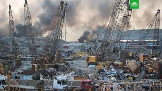 Разрушена половина Бейрута