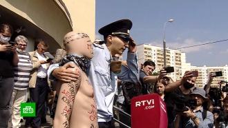 Перед оглашением приговора по делу «Нового величия» уздания суда прошли задержания.НТВ.Ru: новости, видео, программы телеканала НТВ