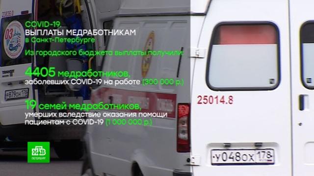 Администрация Петербурга ускорит выплату «коронавирусного» пособия врачам.Санкт-Петербург, врачи, компенсации, коронавирус, эпидемия.НТВ.Ru: новости, видео, программы телеканала НТВ
