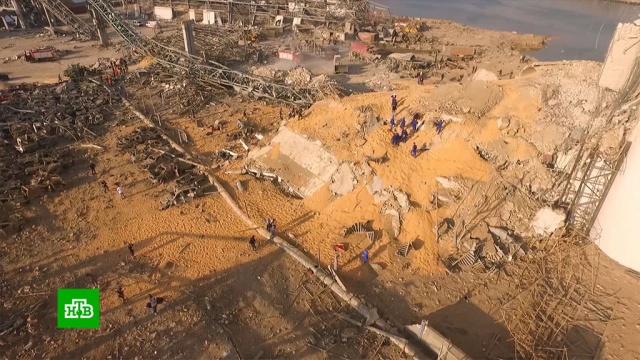 Президент Ливана не исключил причастности «внешних сил» кЧП вБейруте.Ливан, взрывы, расследование.НТВ.Ru: новости, видео, программы телеканала НТВ