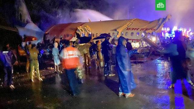 Число жертв авиакатастрофы в Индии возросло до 14.При жесткой посадке Boeing-737 авиакомпании Air India в городе Кожикоде погибли не менее 14 человек.Индия, авиационные катастрофы и происшествия, самолеты, смерть.НТВ.Ru: новости, видео, программы телеканала НТВ