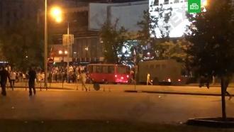 СМИ: вМинске иГродно милиция применила слезоточивый газ