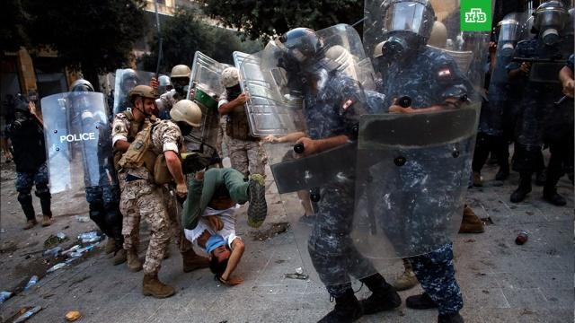 Ливанские военные освободили захваченные демонстрантами министерства.Ливанские полицейские и военные очистили от демонстрантов центр Бейрута.Ливан, беспорядки, выборы, митинги и протесты.НТВ.Ru: новости, видео, программы телеканала НТВ