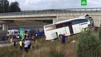 ВТурции вДТП савтобусом погибли 5человек, 25ранены
