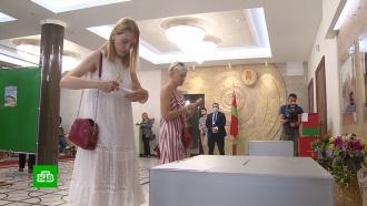 ЦИК Белоруссии готовится огласить первые результаты президентских выборов