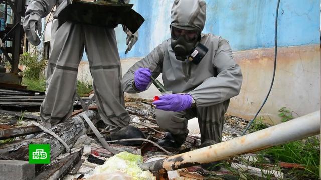 Под Иркутском военные устраняют угрозу загрязнения окружающей среды на химкомбинате.Иркутская область, разлив нефтепродуктов и химикатов, экология.НТВ.Ru: новости, видео, программы телеканала НТВ