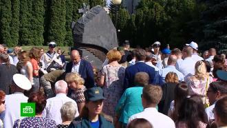 ВРоссии вспоминают погибших моряков «Курска»