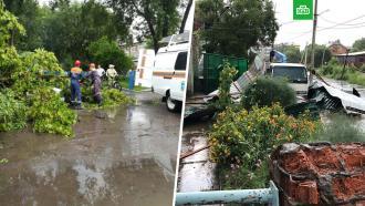 На Приморье обрушился ураган: есть пострадавшие