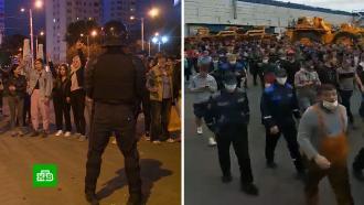 От ночных беспорядков до заводских митингов: как меняются белорусские протесты